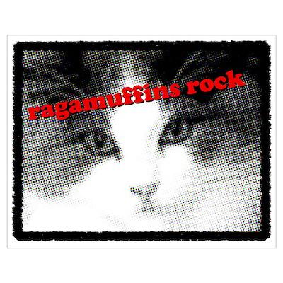 CAT - Ragamuffins Rock Poster