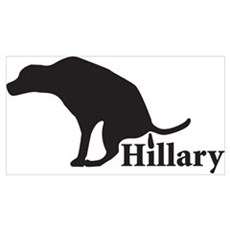 Poop on Hillary Poster