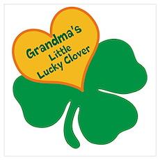 Lucky Clover/Grandma Poster