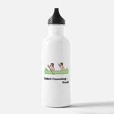 Naked Canoeing - Yeah! Water Bottle