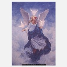 Cute Angel Wall Art