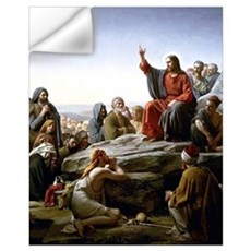 Sermon On the Mount Wall Decal