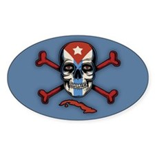 Cubans of the Caribbean Decal