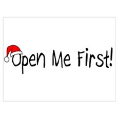Open Me First Poster