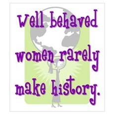 Women Make History Poster