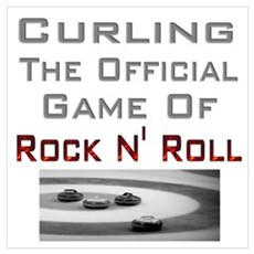 Curling-The Official Game Of Poster