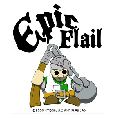 Epic Flail Poster