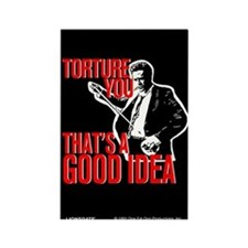 Reservoir Dogs Torture You Rectangle Magnet