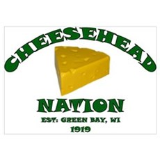Cheesehead Nation Poster