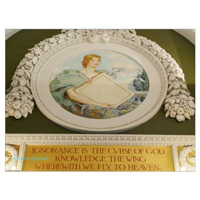 LIBRARY OF CONGRESS NORTH WAL Poster