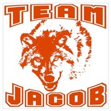 Team Jacob ~ Russet Poster