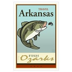 Travel Arkansas Poster