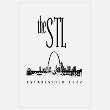 the STL (black print)