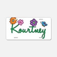 Kourtney Flowers Aluminum License Plate