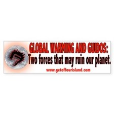 Global Warming and Guidos Bumper