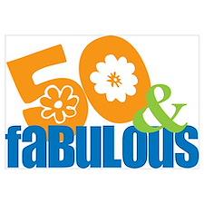 50th birthday & fabulous