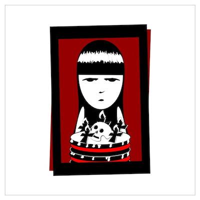 Goth Girl Poster