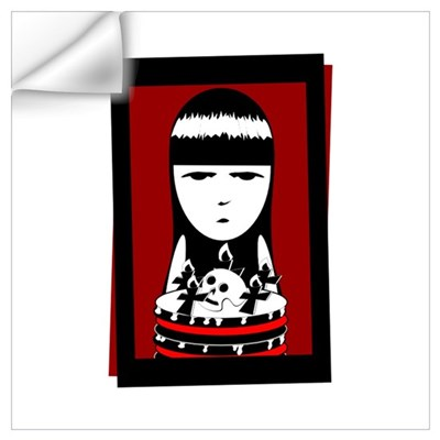 Goth Girl Wall Decal