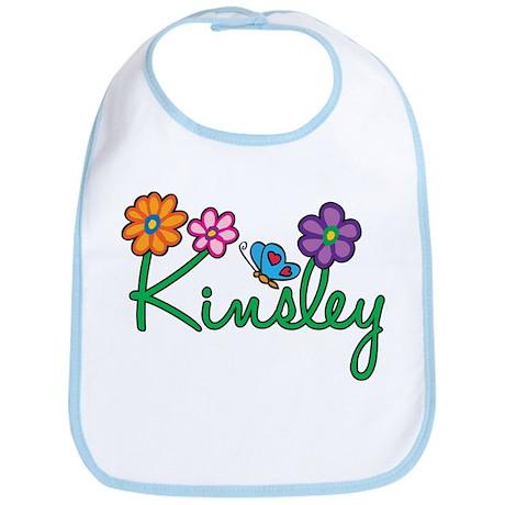 Kinsley Flowers Bib