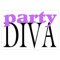 Party Diva Canvas Art