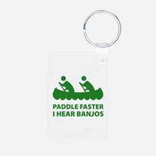 Paddle Faster Keychains