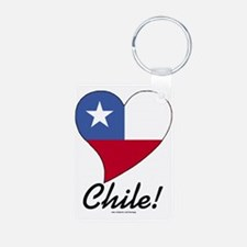 Heart Chile (World) Keychains