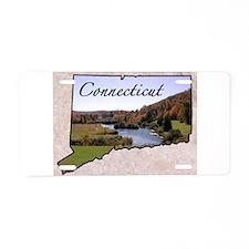 Unique Connecticut Aluminum License Plate