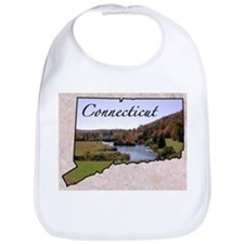 Funny Connecticut Bib