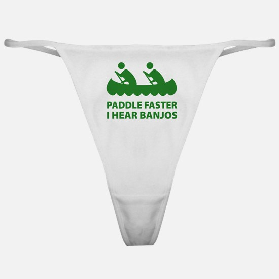 Paddle Faster Classic Thong