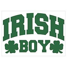 Irish Boy Poster