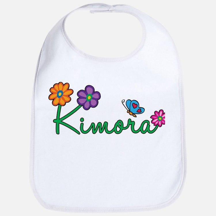 Kimora Flowers Bib