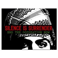 Silence is Surrender Poster