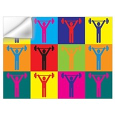 Personal Training Pop Art Wall Decal