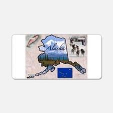 Cute Alaska Aluminum License Plate