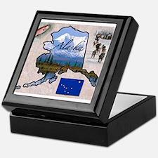 Cute Alaska Keepsake Box