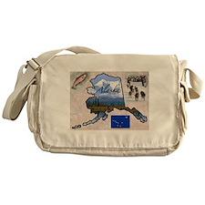 Cute Alaska Messenger Bag