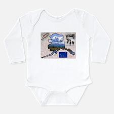 Funny Alaska Long Sleeve Infant Bodysuit