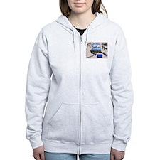 Unique Alaska Zip Hoodie