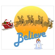 I Believe In Santa Claus Poster
