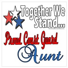 Coast Guard Aunt Poster