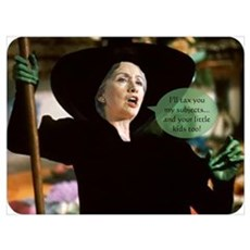 Hillary Witch Poster