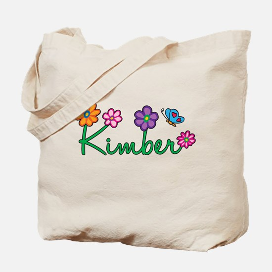 Kimber Flowers Tote Bag