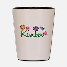 Kimber Flowers Shot Glass