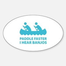 Paddle Faster Decal