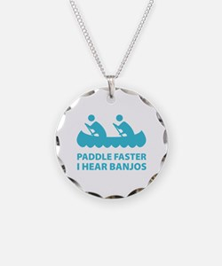 Paddle Faster Necklace