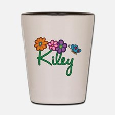 Kiley Flowers Shot Glass