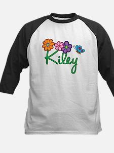 Kiley Flowers Kids Baseball Jersey