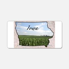 Cool Iowa Aluminum License Plate