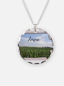 Cute Iowa Necklace
