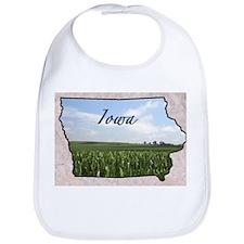 Cute Iowa Bib